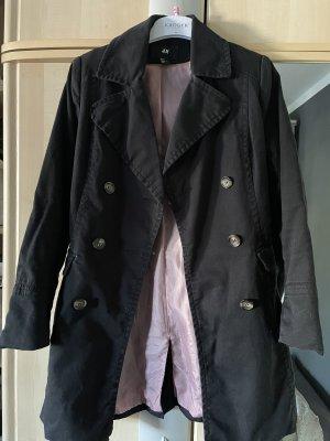 Trenchcoat H&M schwarz Gr.38