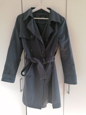 Trenchcoat in dunkelblau