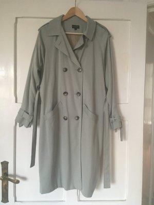Topshop Trenchcoat bleu pâle-gris ardoise