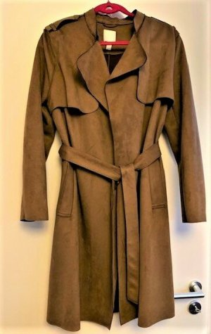 H&M Trenchcoat cognac polyester