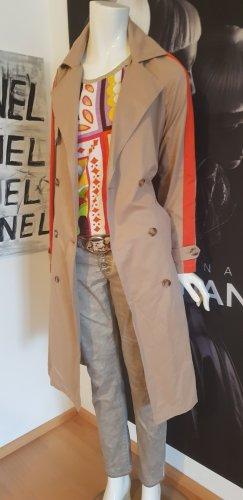 Trenchcoat ital Boutique small beige bindegürtel