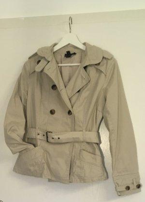Trenchcoat/ Jacke beige Mango Größe M/L