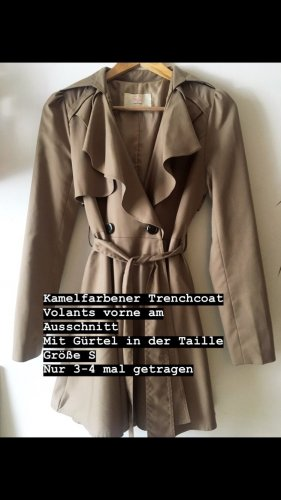 Trenchcoat Kamel Farben