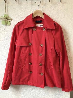 Darling Harbour Trench rosso Cotone
