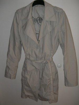 Trenchcoat Leichter Herbst Mantel in Gr. 38, Beige