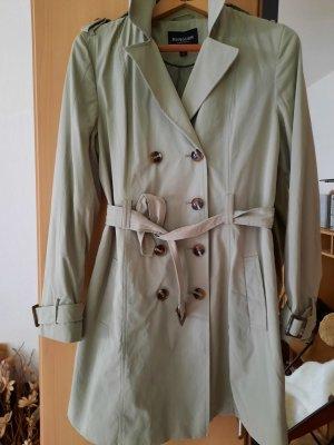 Manguun Trench Coat sage green