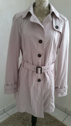 Ashley Brooke Trench Coat dusky pink-pink