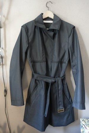 Trenchcoat, Mantel, Jacke, Frauenschuh, schwarz, wie neu