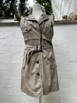 Khujo Trench color cammello