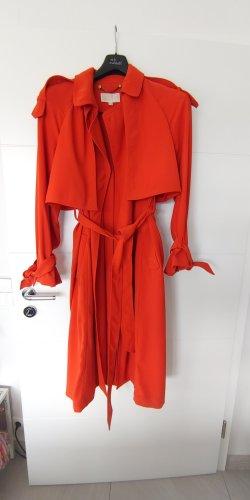 Michael Kors Between-Seasons-Coat dark orange