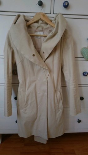Mint&berry Trenchcoat beige clair coton