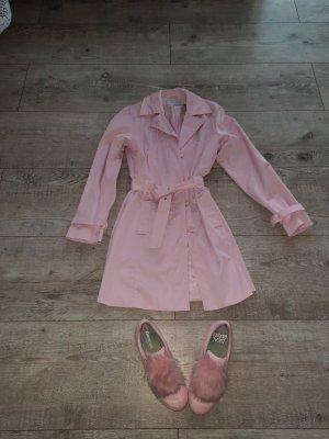 More & More Gabardina tipo vestido rosa claro