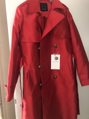 Nikkie Heavy Raincoat red acetate