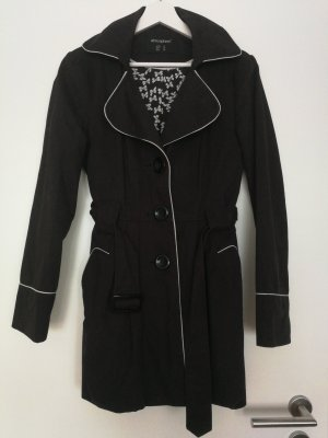 Trenchcoat Petticoat Retro Mantel 36
