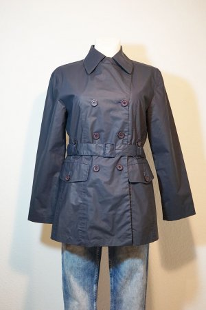 Livre Raincoat dark blue-slate-gray polyester