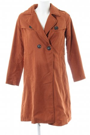 Trenchcoat rostrot Casual-Look