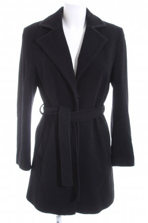 Trenchcoat schwarz Casual-Look