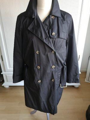 Trenchcoat schwarz Gr. 44