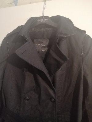 trenchcoat Schwarz von Zara in Größe M