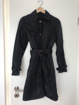 0039 Italy Trenchcoat noir