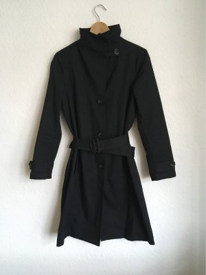 United Colors of Benetton Trench Coat black