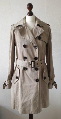 Esprit Trenchcoat brun sable-beige coton