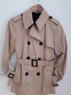 Karl Lagerfeld Between-Seasons Jacket beige-black cotton
