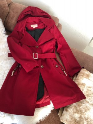 Michael Kors Trench rosso scuro