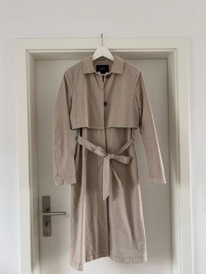Set Fashion Trenchcoat beige Katoen