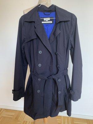 Tom Tailor Trench Coat dark blue-blue