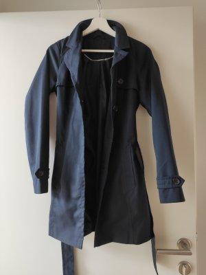 Vero Moda Trench Coat dark blue