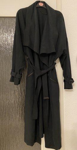 Zara Woman Trench Coat black