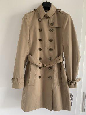 Trenchcoat, Wasserdicht cotton und bronze Knöpfen