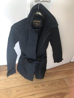 Woolrich Between-Seasons Jacket dark blue