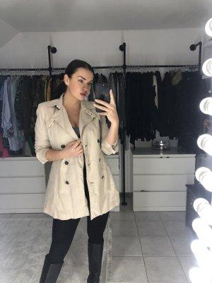 Zara Trenchcoat beige clair-crème