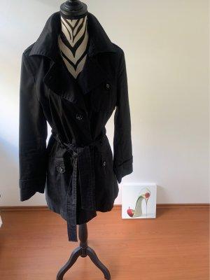 Trenchcoats Mantel schwarz