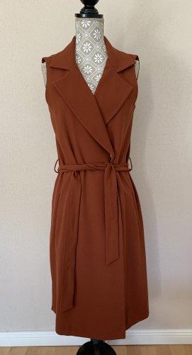 Yargici Kopertowa sukienka rudy
