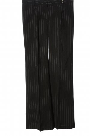 Trend Suit Trouser black striped pattern business style