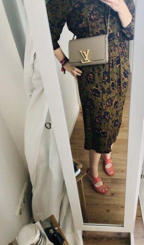 Boutique 9 Maxi-jurk donkergroen-oranje