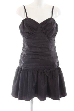 Trend Cocktailkleid schwarz Elegant