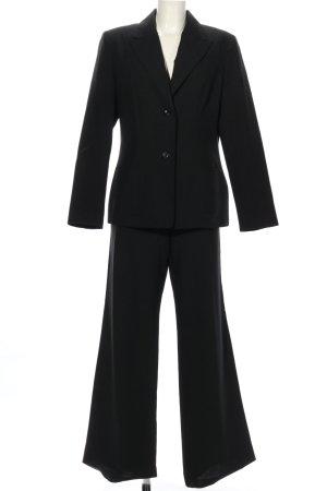Trend Tailleur-pantalon noir style d'affaires
