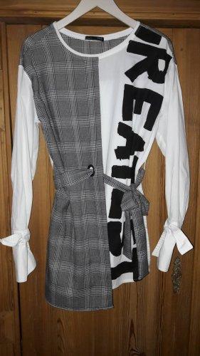 Trend Karo: Long Blusenshirt
