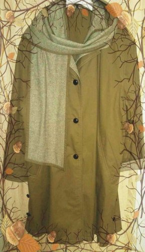 C&A OUTERWEAR Płaszcz zimowy piaskowy brąz-beżowy