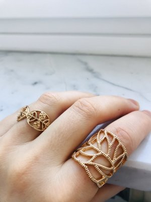 Boutique 9 Statement Ring gold-colored