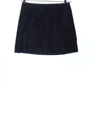 Trend Wollrock schwarz Casual-Look
