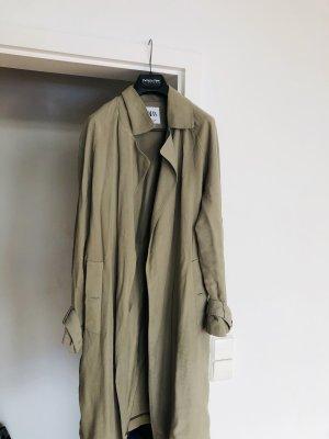 Trendig! Zara, Trenchcoat in olivegrün, Grösse M