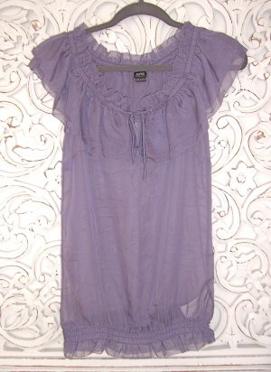 trendige Bluse Top von ESPRIT Collection * off-shoulder * flieder * Gr. 36 S-M * NEU!!