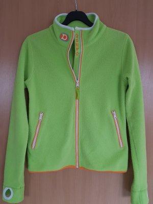 Donna Veste polaire vert fluo polyester