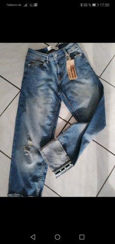 7/8-jeans azuur-korenblauw