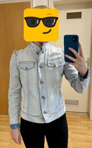 Mango Veste en jean bleu azur
